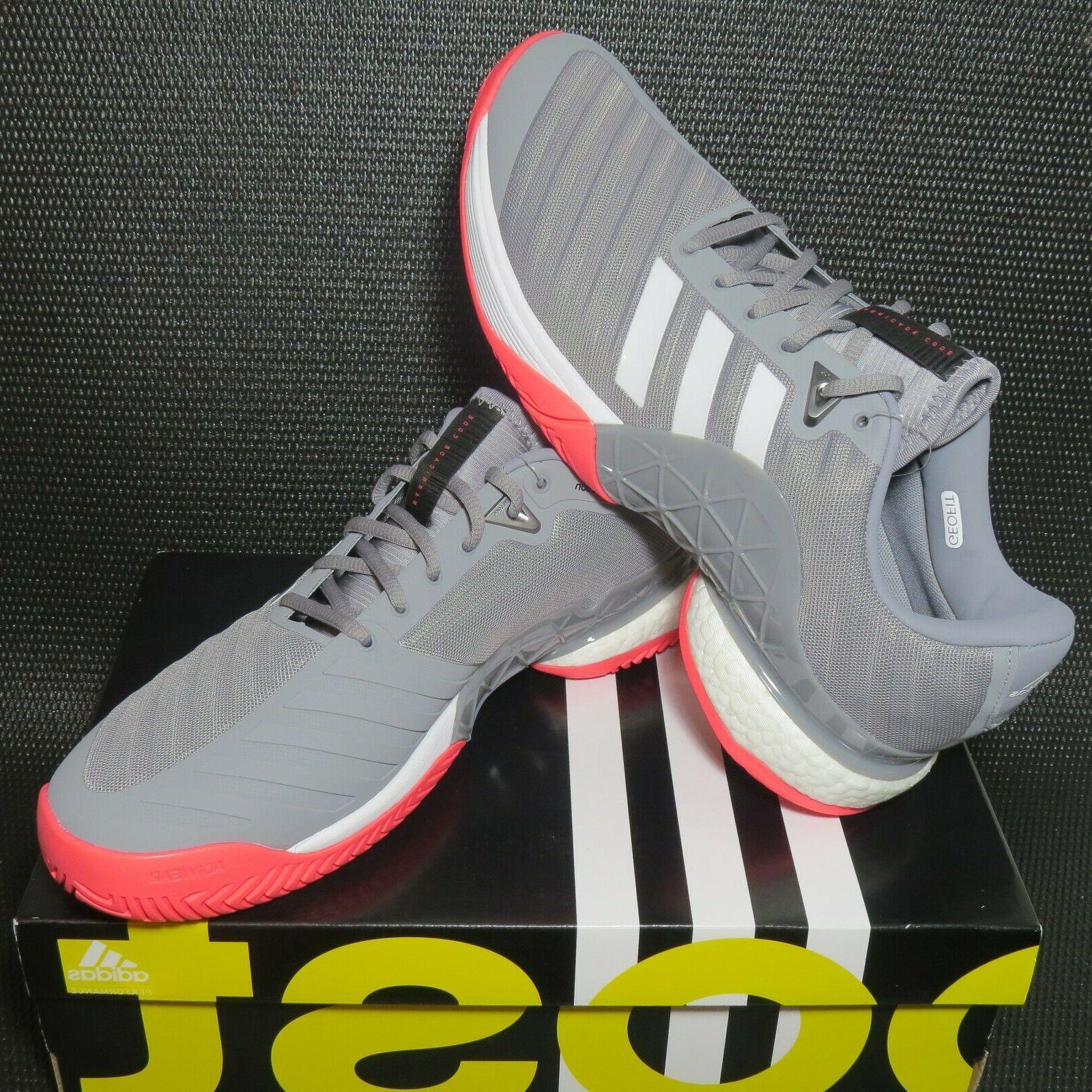 adidas Barricade AH2094 Tennis Grey/White/Pink