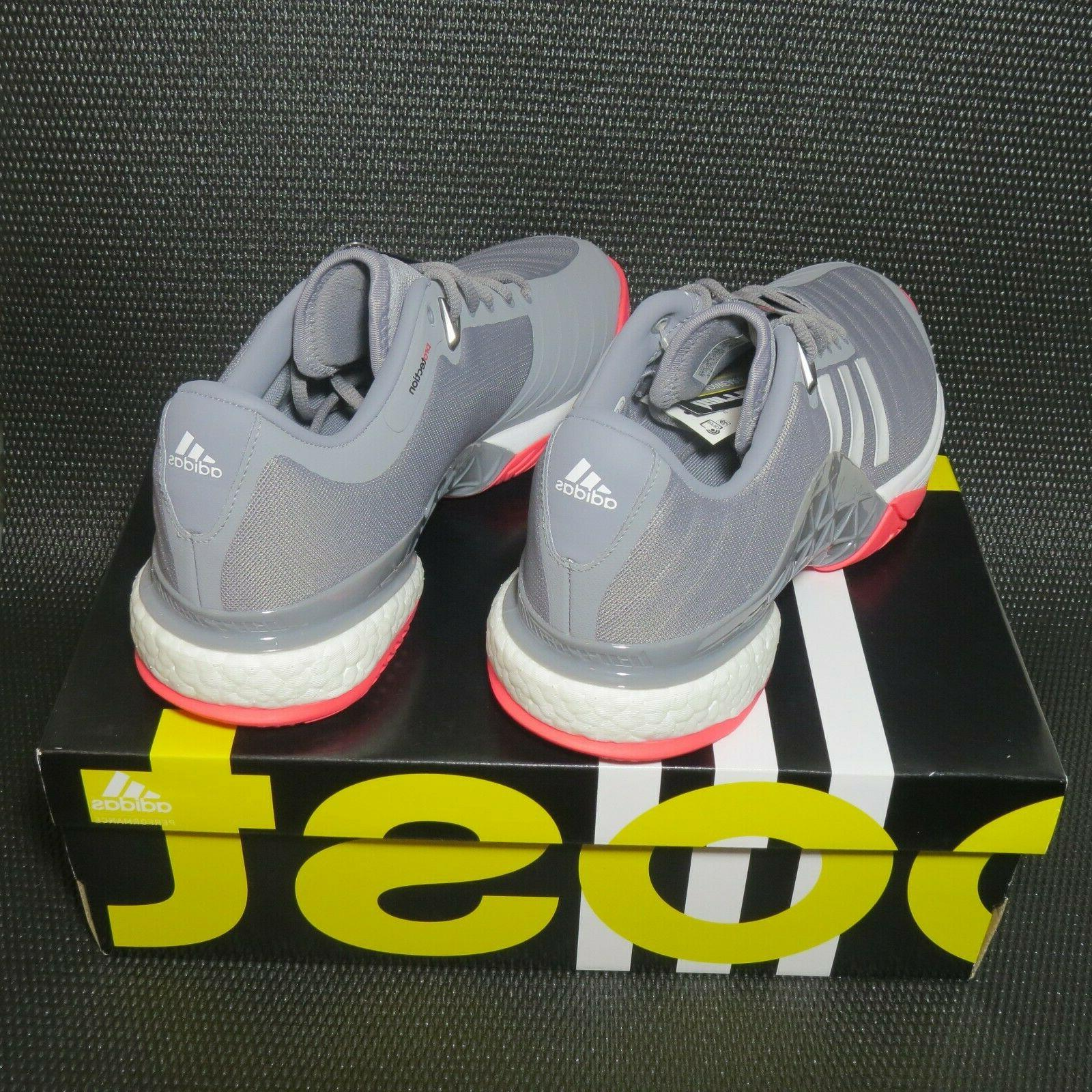 adidas Barricade AH2094 Size Tennis Grey/White/Pink