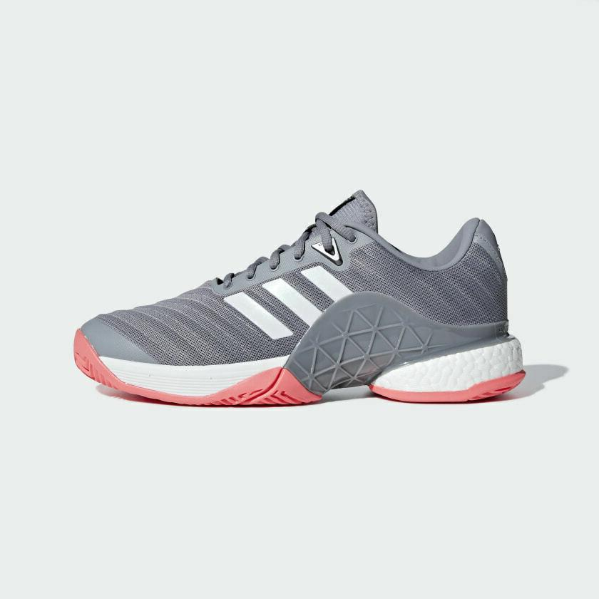 barricade 2018 boost mens tennis shoes grey