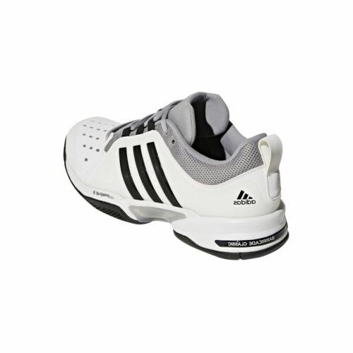 adidas Barricade Wide men tennis shoes White/Black BY2920