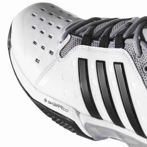 adidas Barricade Classic men tennis shoes White/Black
