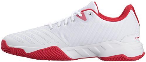 adidas Men's Barricade Court 3 White/Matte 10.5 US