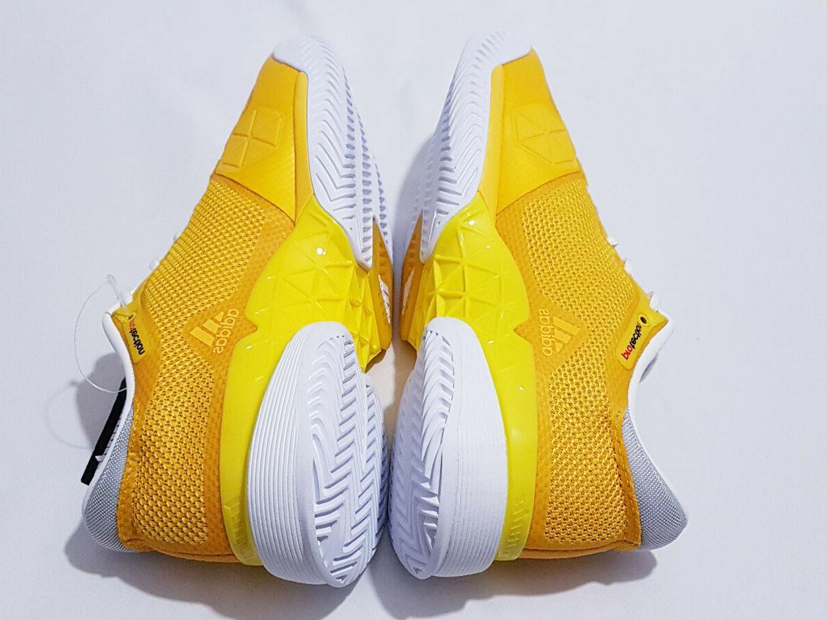 Adidas Barricade Size Tennis Yellow/White