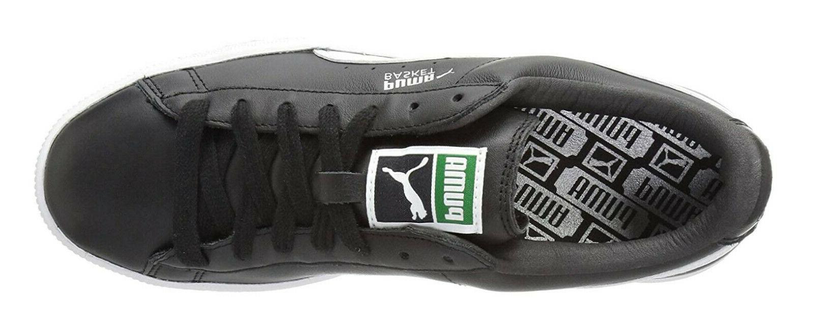 PUMA Classic Black Mens Sneakers Tennis 21