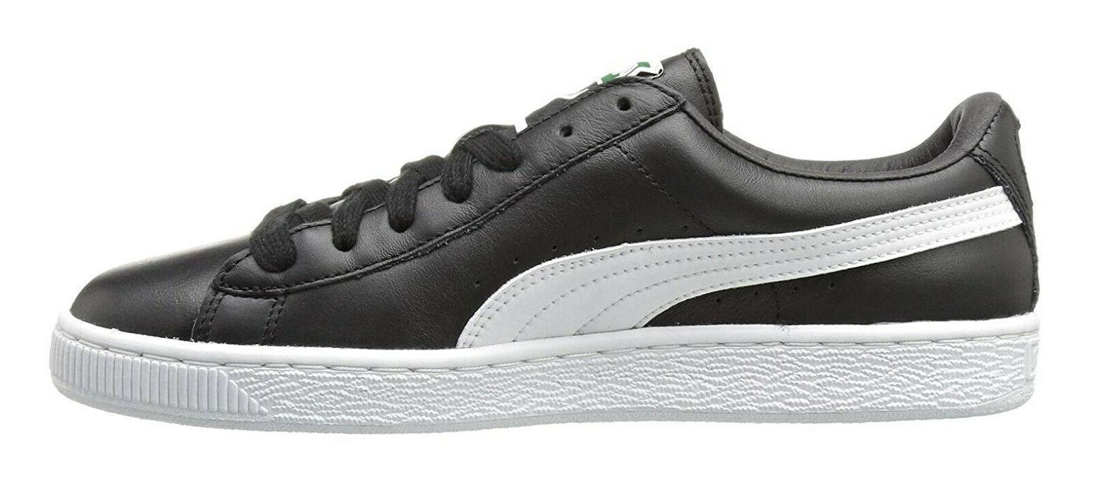 PUMA Classic LFS Black White Tennis Shoes Item 354367 21