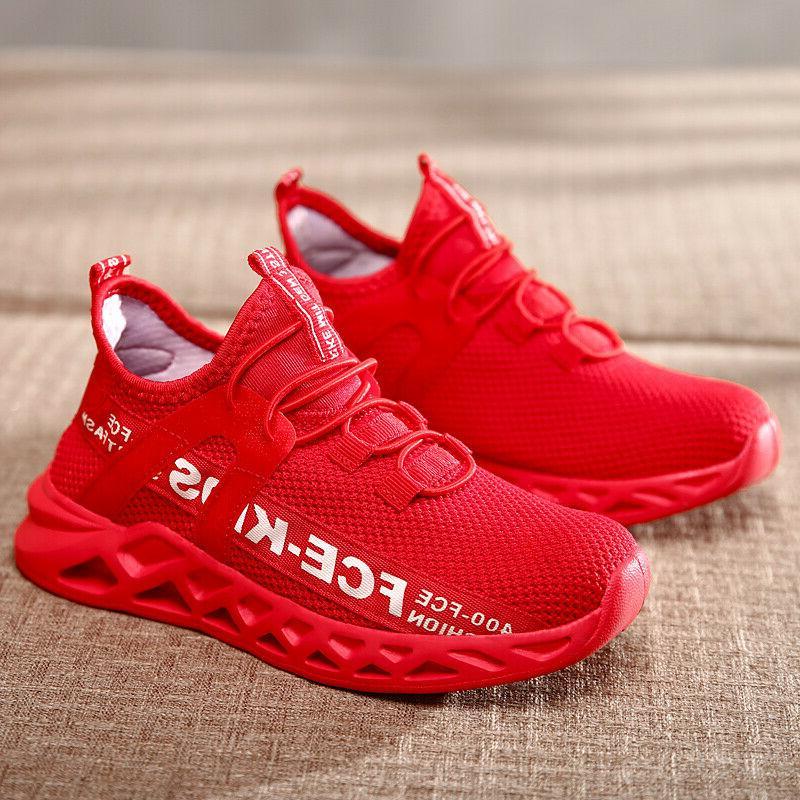Kids Shoes Boys Girls Sneakers Running Tennis  Athletic Gym