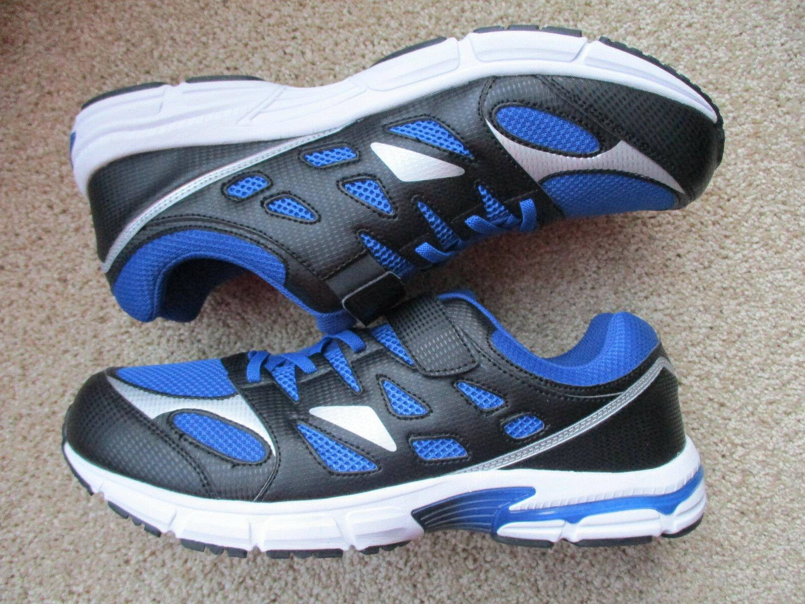 Brand New tennis shoes size Blue Black, White, #10797