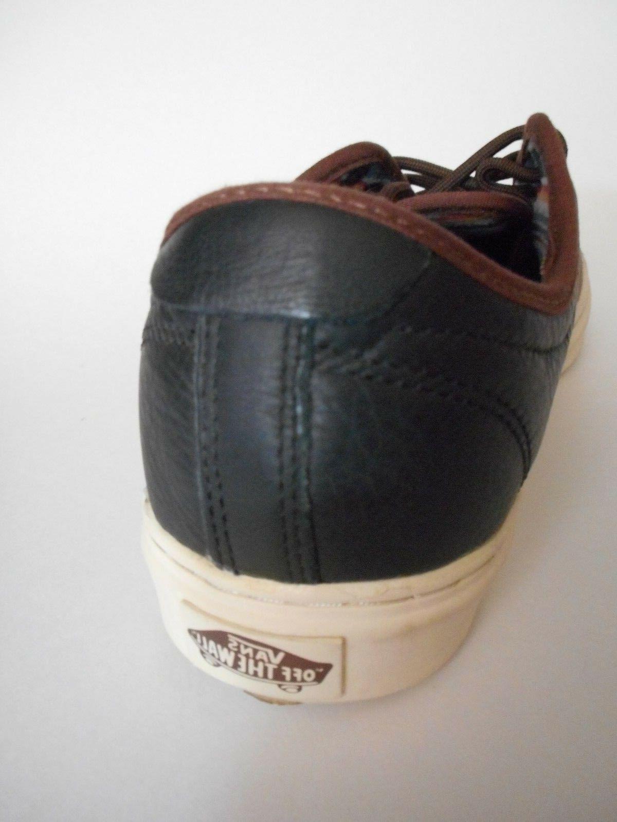 BRAND 9 Antique Black Low Top Shoes