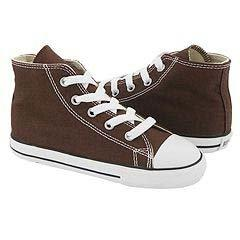Converse Chuck Taylor All Star Hi Top Chocolate 7p626 Infant