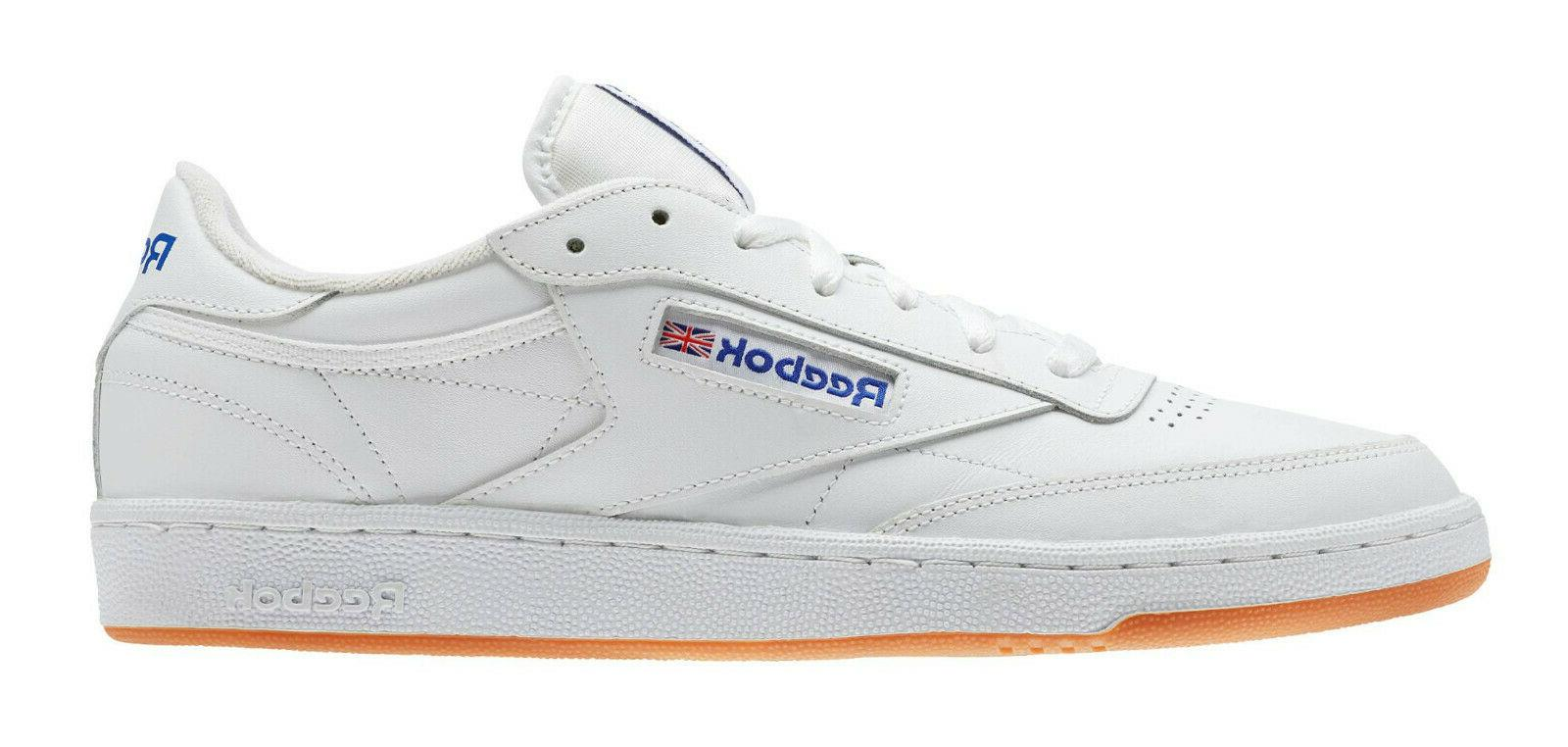 Reebok Classic Club 85 White, Mens Sneakers AR0459