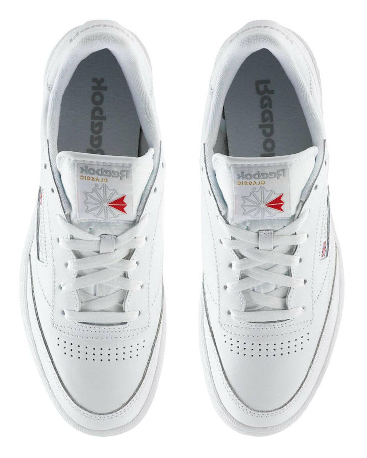 Reebok Club 85 White Mens Sneakers Item