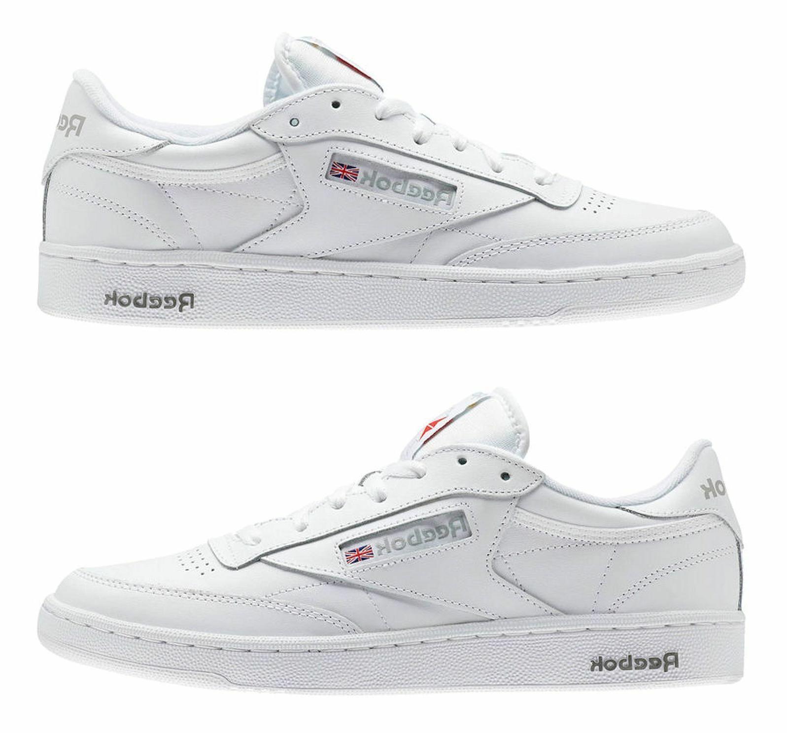 Reebok Classic 85 Sheer Grey Mens Tennis Item