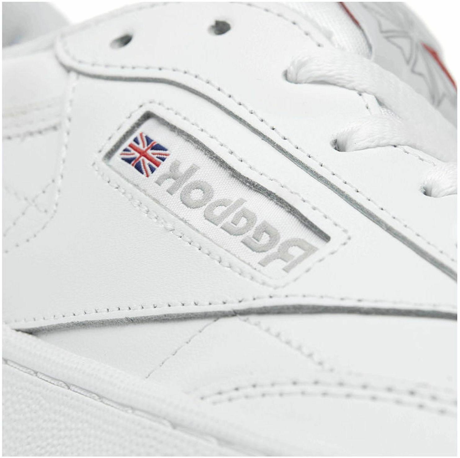 Reebok Club C 85 Grey Mens Sneakers Shoes Item