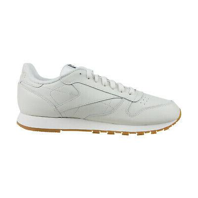 Reebok Classic Leather 3Am Mens White Top Sneakers Shoes