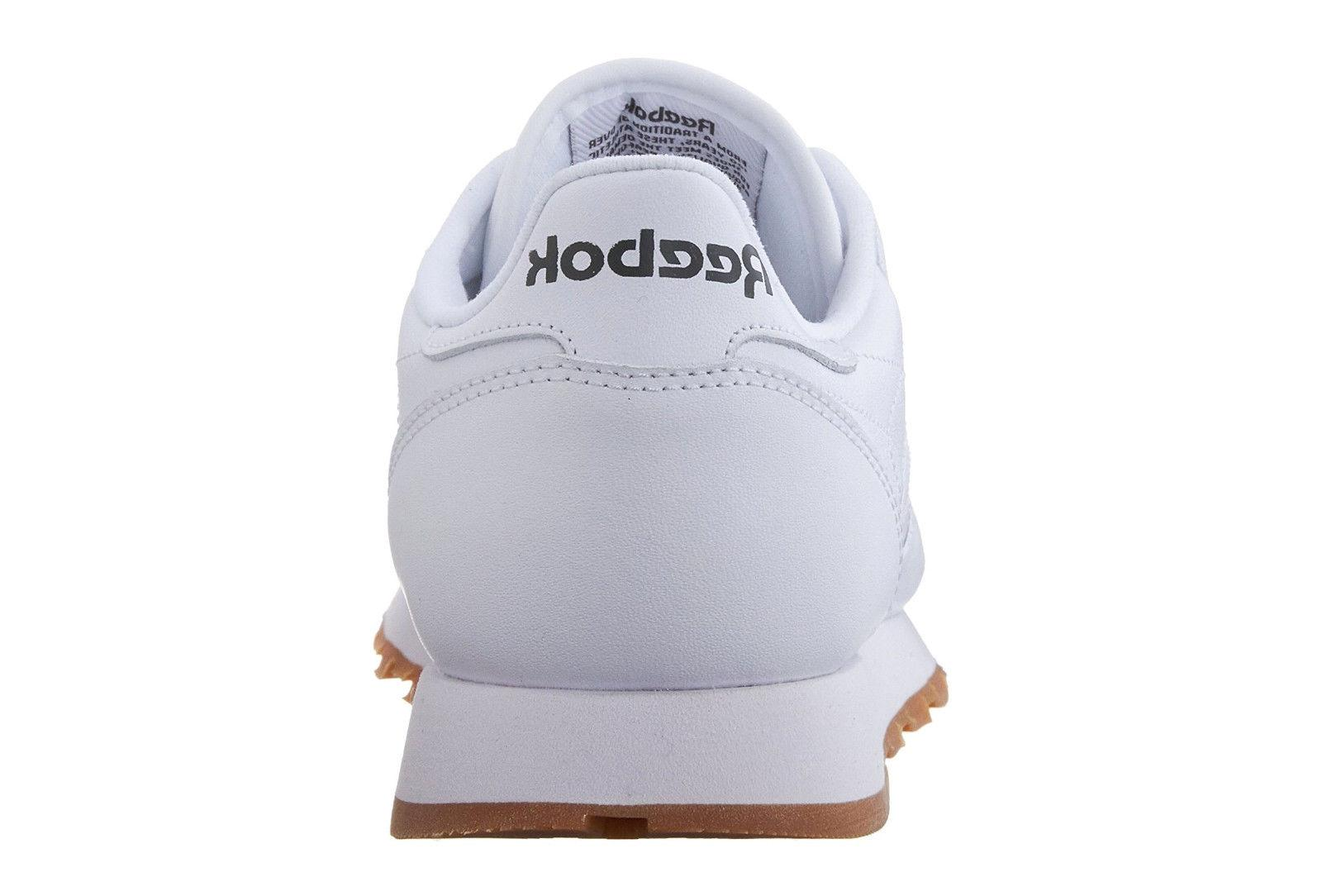 Reebok Classic White, Gum Mens Shoes Item