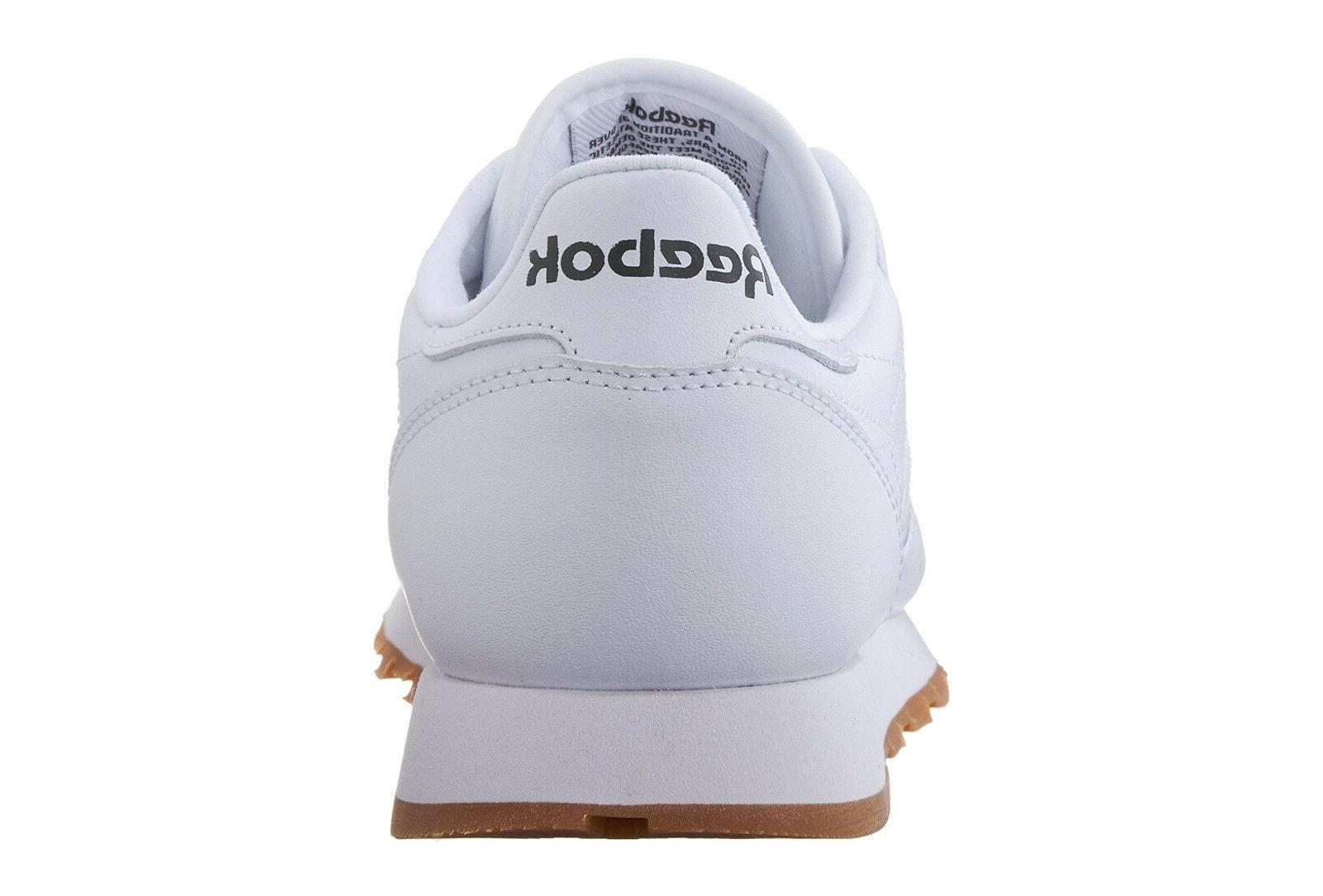 Reebok Classic White, Gum Mens Shoes Item