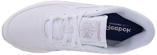 Reebok Women's Sneaker, White/Steel, 9 US