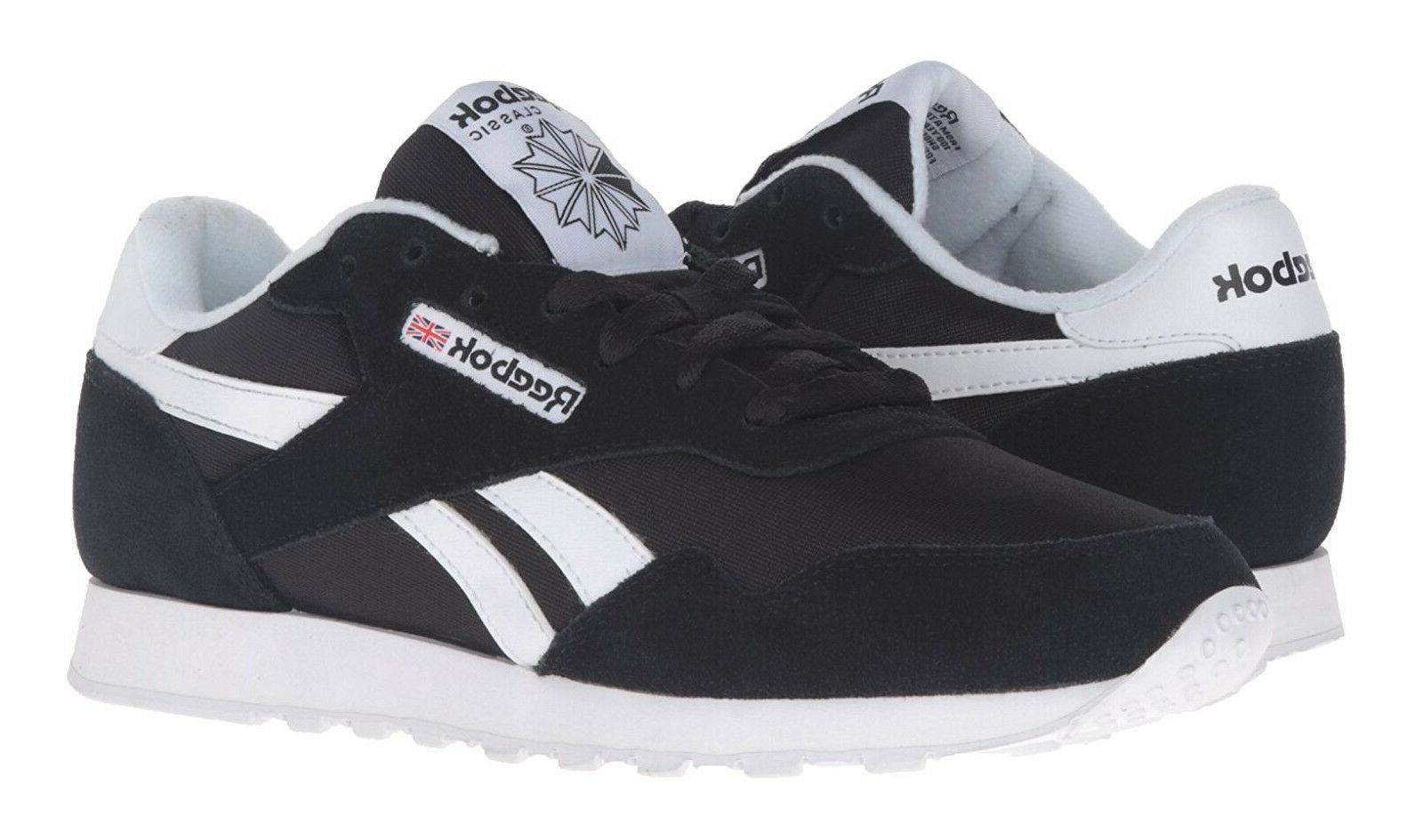 Reebok Classic Royal Black Mens Running Tennis Shoes