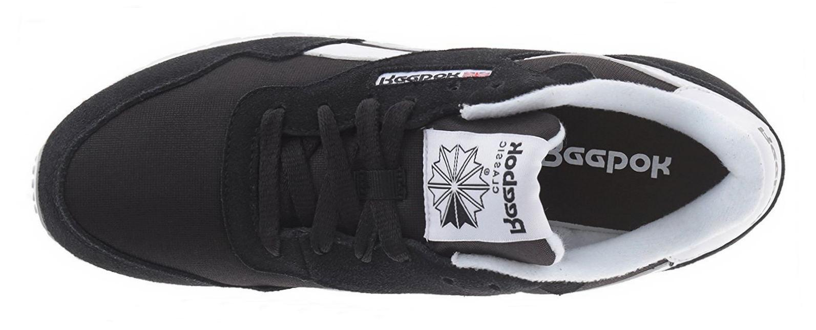 Reebok Classic Royal Black White Mens Tennis Shoes