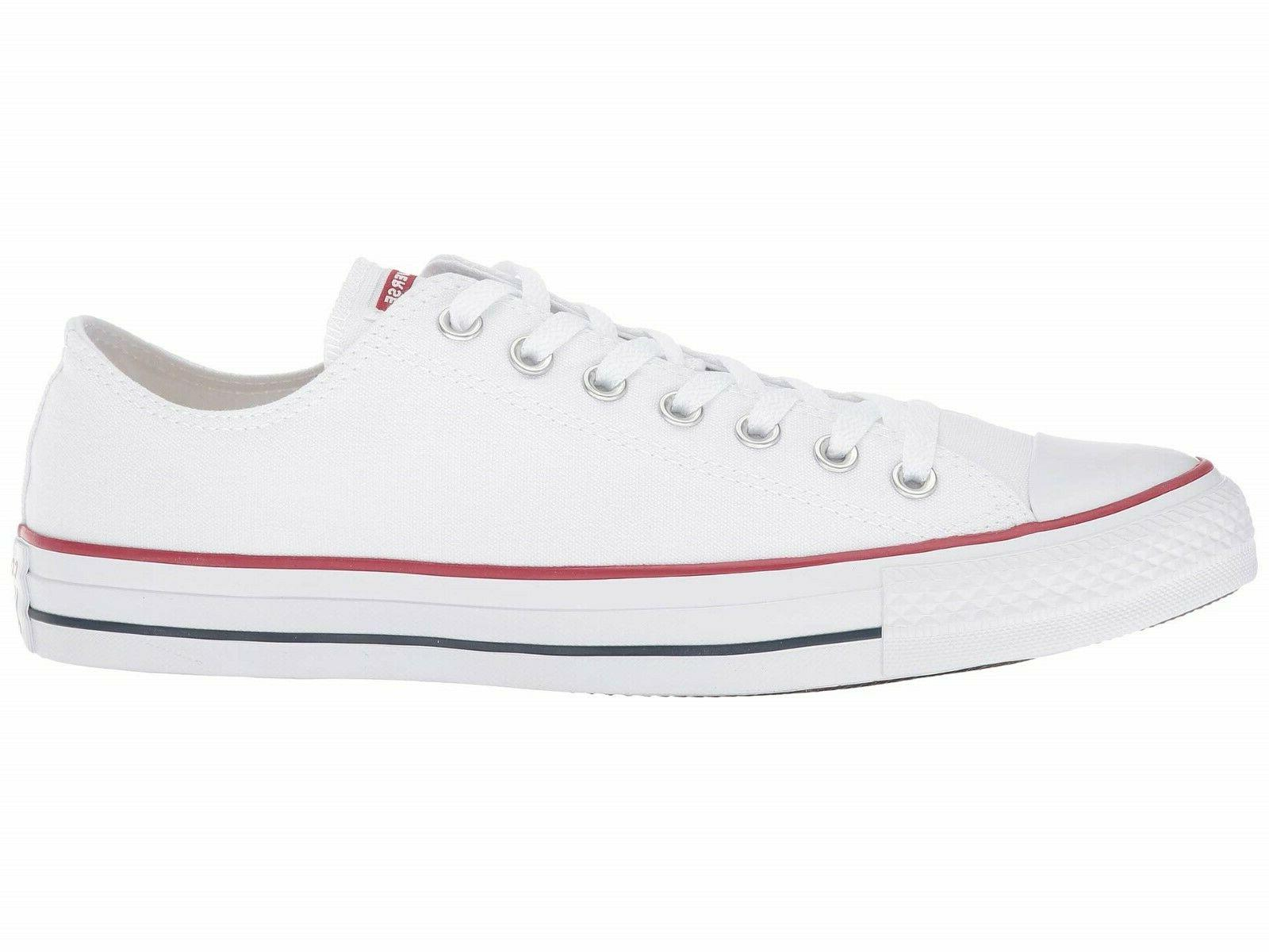 converse unisex all star optical white low