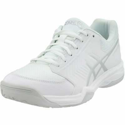 gel dedicate 5 casual tennis shoes white
