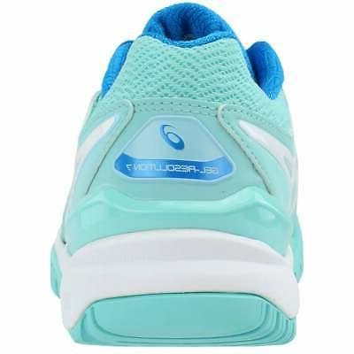 ASICS GEL-Resolution Tennis Shoes Blue Womens B