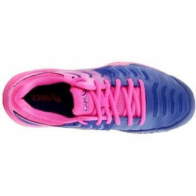 ASICS GEL-Resolution 7 Casual Tennis - Blue - Womens