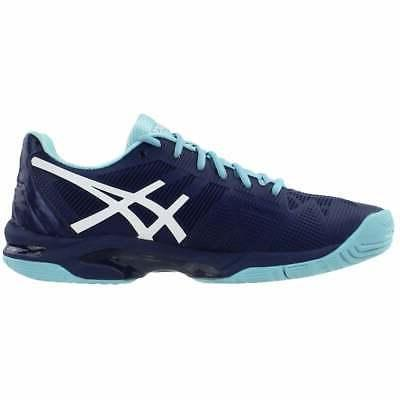 ASICS Gel-Solution Speed 3 Athletic Tennis Court Navy - Womens Size