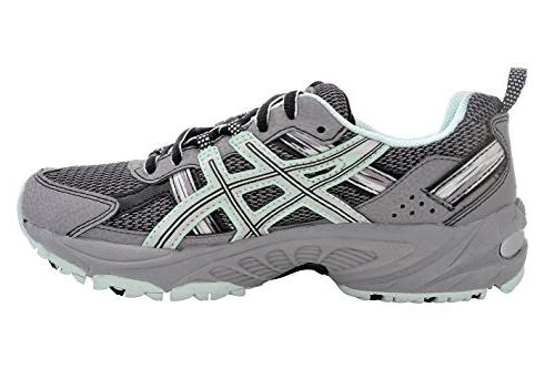 ASICS Gel-Venture Running Shoe US, Gray/Silver/Soothing