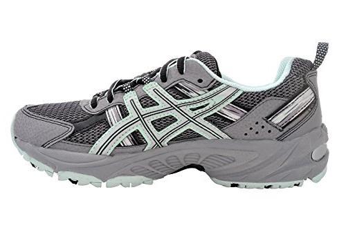 ASICS Gel-Venture Running Shoe US, Gray/Silver/Soothing