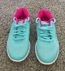 FILA Girls Youth Running Athletic Tennis Shoes Green/Pink Si