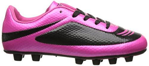 Vizari Infinity Soccer Cleat Pink/Black, 8.5 M