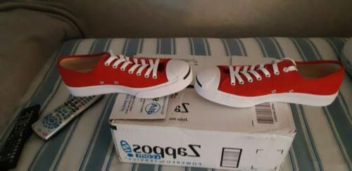 Converse Shoes 8.5. Red.