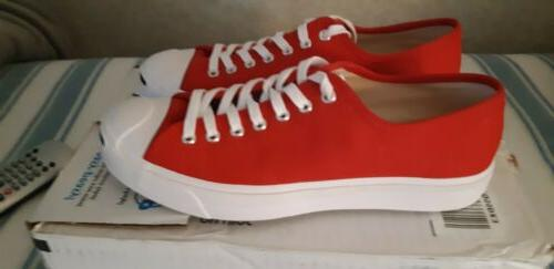 Converse Jack Shoes Mens Red.