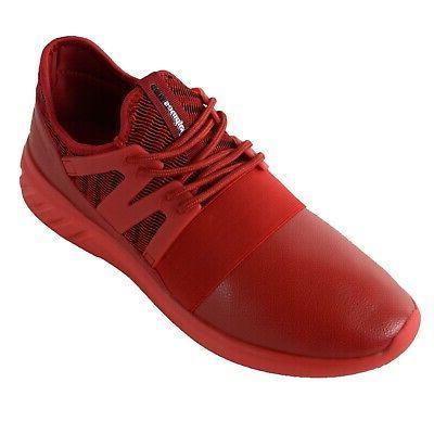 Alpine Josef Tennis Shoes Low Sneakers Flex Strap Knit