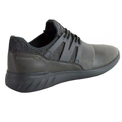 Alpine Josef Tennis Shoes Low Top Sneakers Strap Knit Collar