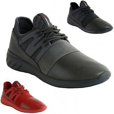 josef men tennis shoes low top sneakers