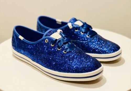 kate spade keds champion tennis shoes blue