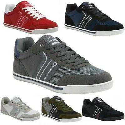 liam mens fashion sneakers suede trim low