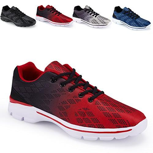 lightweight breathable running tennis sneakers