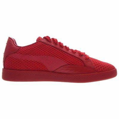 Stripe Shoes - Red Womens
