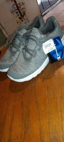 memory foam insole tennis shoes gray