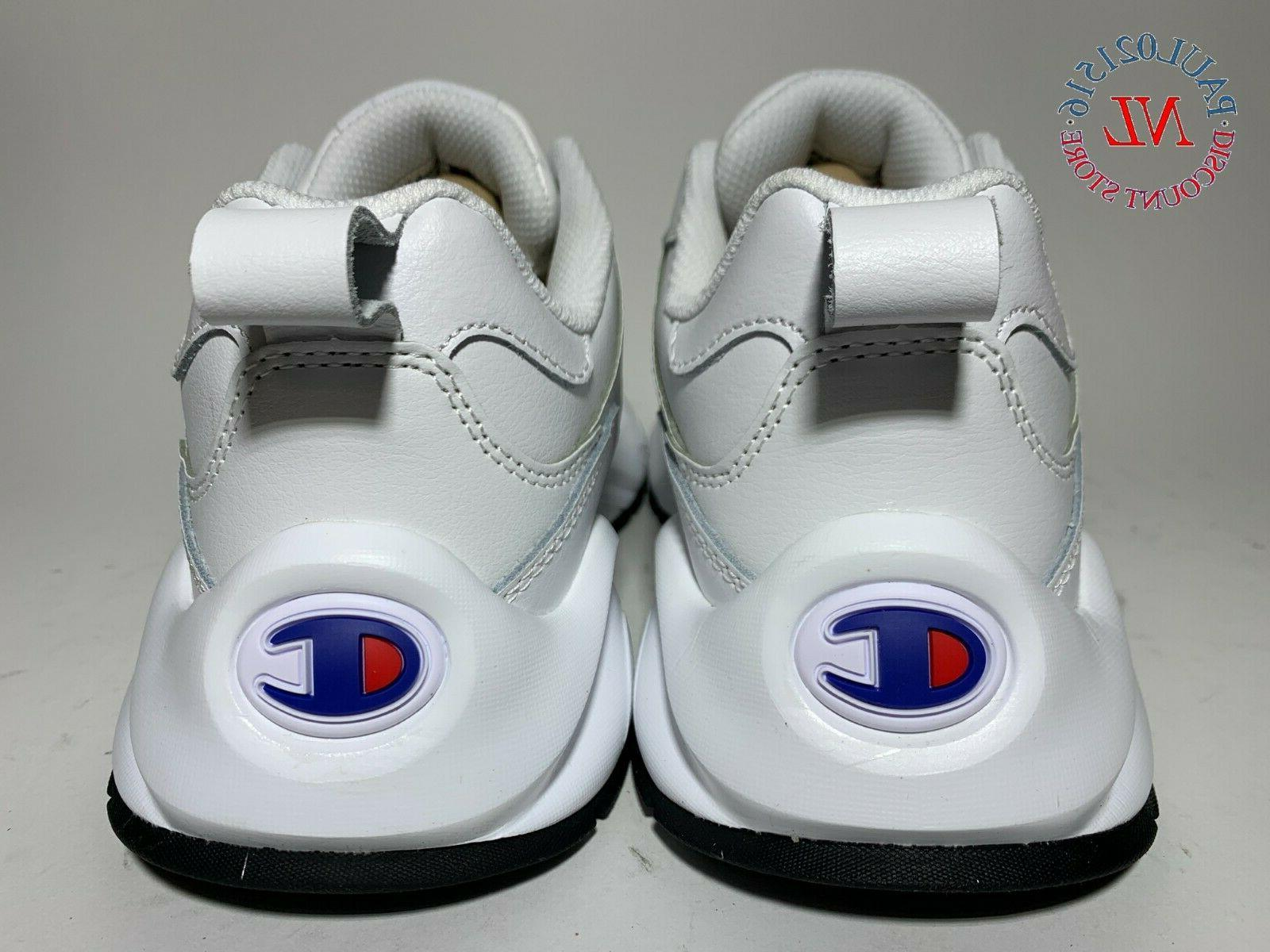 CHAMPION Casual Leather Shoes White Various Sizes !
