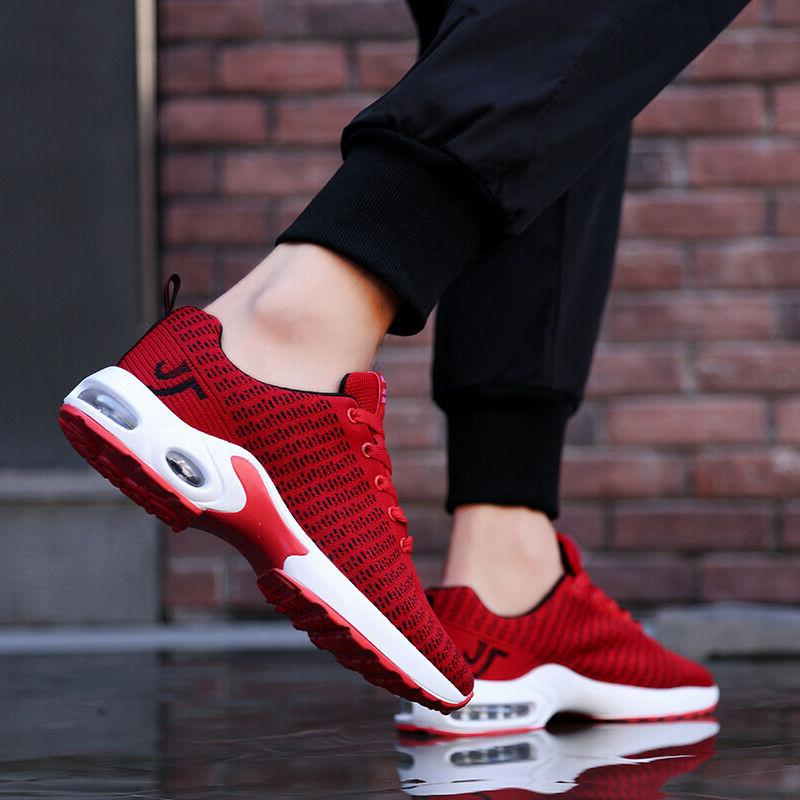 Men's Air Cushion Running Shoes Sports Casual Tennis Athletic Sneakers