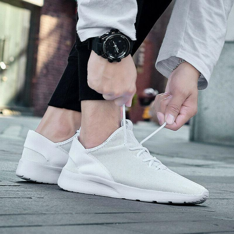 Men's Casual Sports Running Tennis Non-slip Shoes Gym