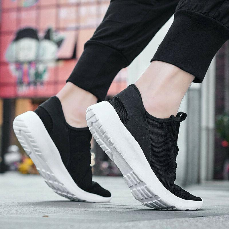 Men's Casual Sports Running Walking Tennis Non-slip Shoes