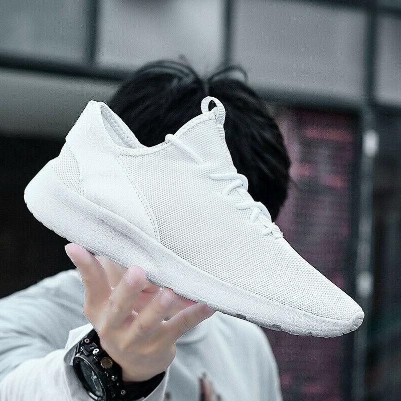 Men's Casual Sneakers Sports Non-slip Shoes Gym