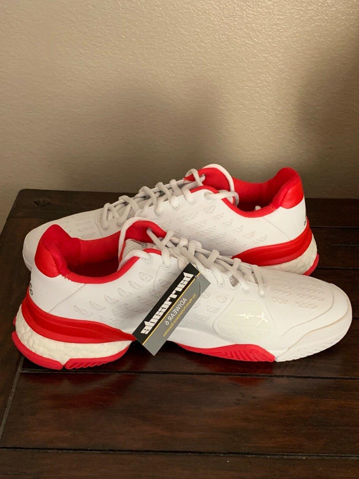 Adidas Barricade Boost Tennis AQ2262 Size