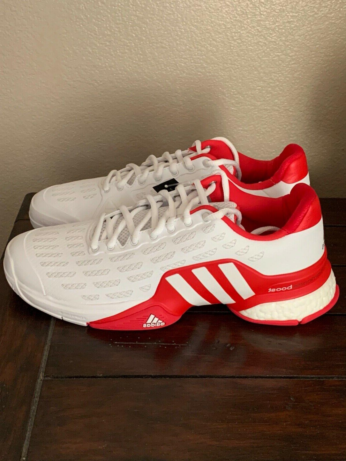 Adidas Men's Barricade Boost Tennis Shoe Style AQ2262 Size