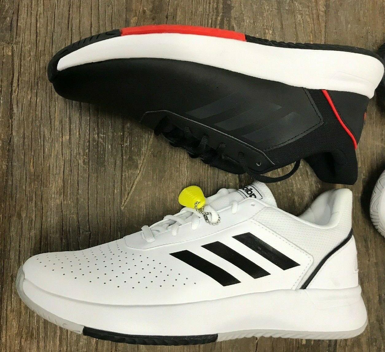 Adidas White Courtsmash Tennis - Floor
